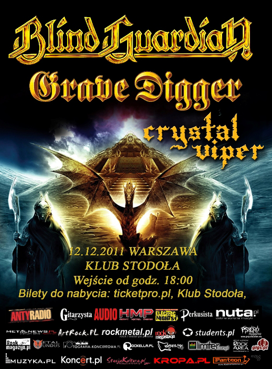 Plakat Blind Guardian