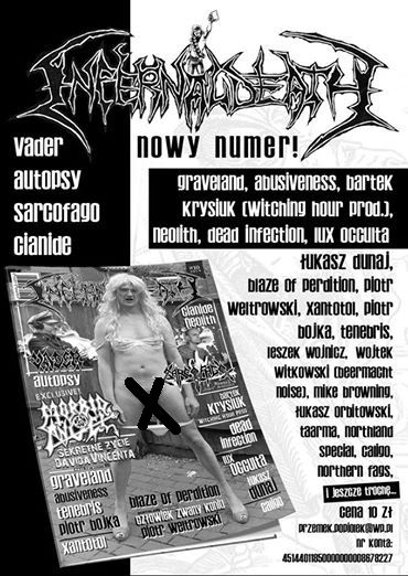 infernal death zine 2014