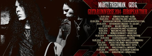 marty friedman gus g poland poster